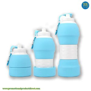 reusable-eco-friendly-collapsible-silicone-water-bottle-trade-show-swag--collapse