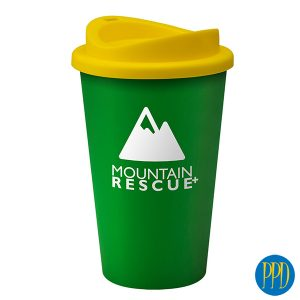 recycled plastic reusable coffee mug for New York and New Jersey business marketers