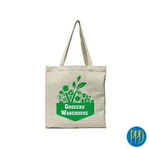 reusable canvas shopping bag for New York and New Jersey business marketers