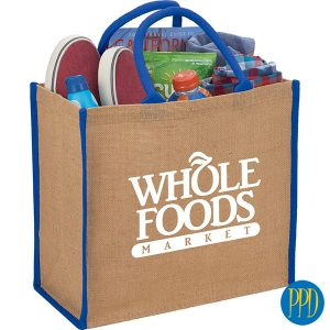 sustainable jute shopping bag for New York and New Jersey business marketers