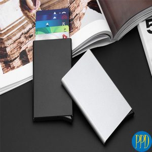 RFID blocking credit card holder for business to business marketing in New York and New Jersey.