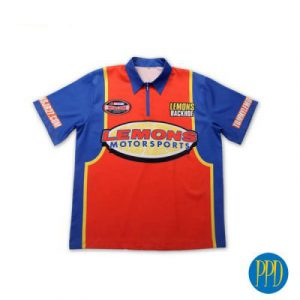 auto racing jersey for New York and New Jersey business marketers that use promotional products.