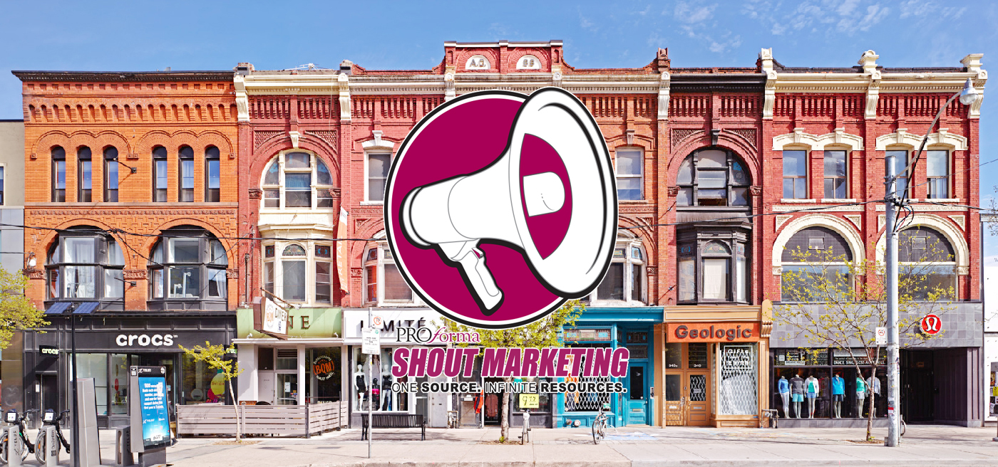 Shout Marketing takes on Toronto Ontario Promotional Product Direct. Eastern Canadian and the Greater Toronto region are now looked after by promotional products expert Michael Barclay. His company,Shout Marketinghas now signed on board as the Ontario and Eastern Canadian office for Promotional Product Direct, Canada's promotional product super source.